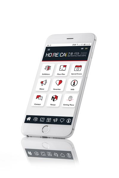 HORECA Web App 2020